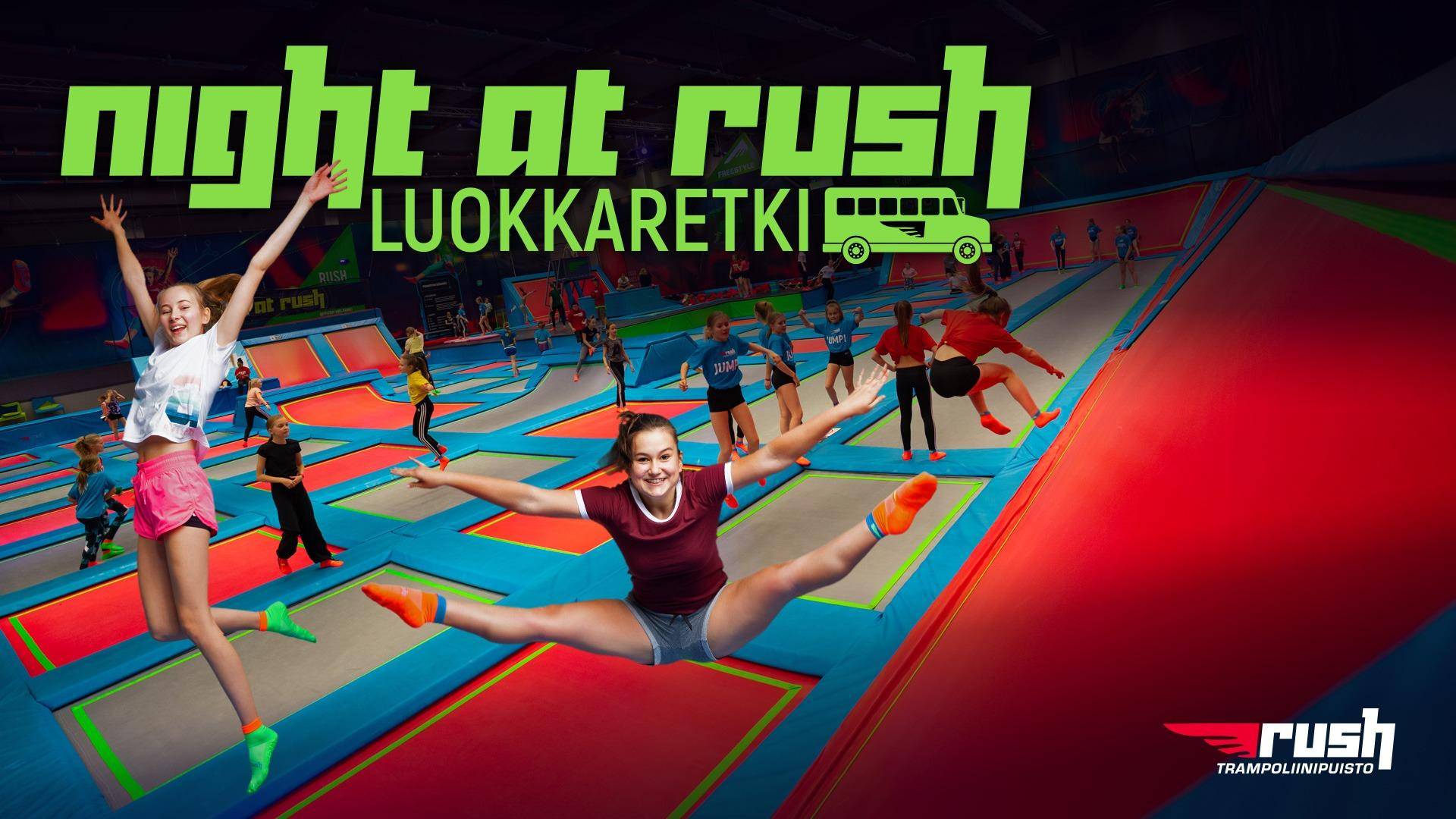 Night at Rush -luokkaretki